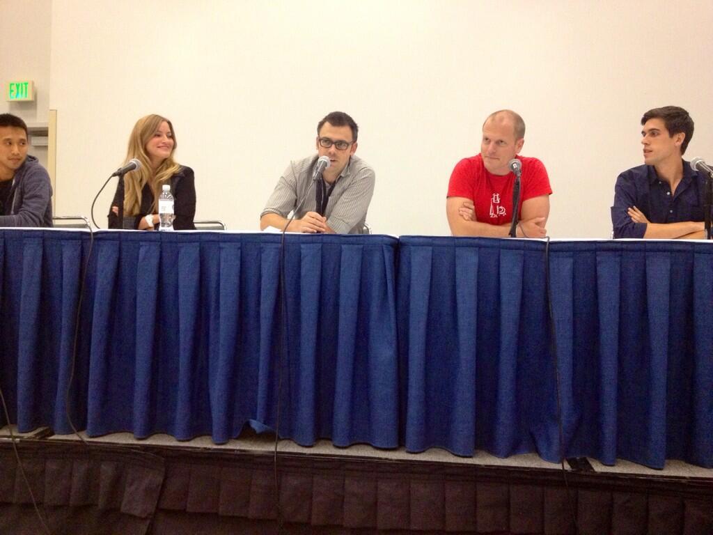 Brendan Gahan - VidCon 2013 panel of speakers