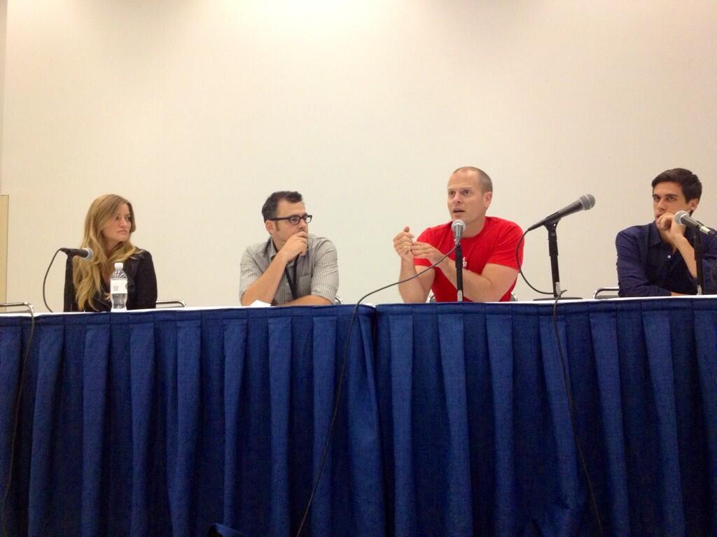 Tim Ferris - VidCon 2013 panel of speakers