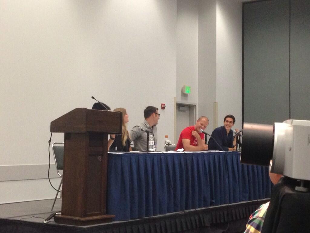 speakers at VidCon 2013