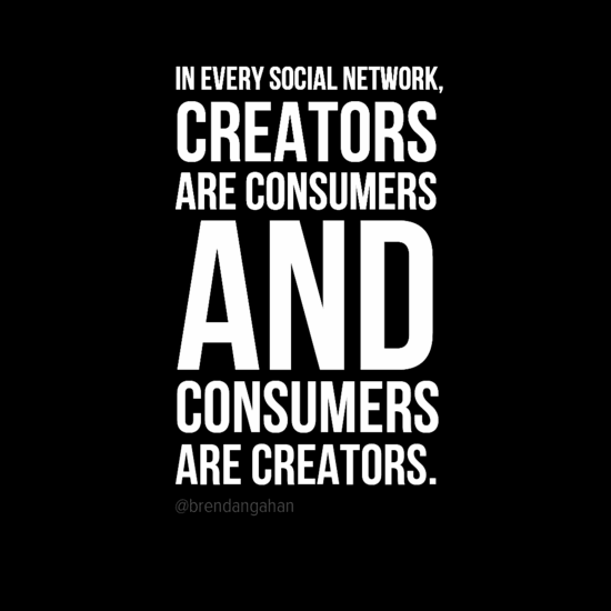 Creatorsareconsumersquote YouTube marketing, Brendan Gahan, Forbes 30 under 30