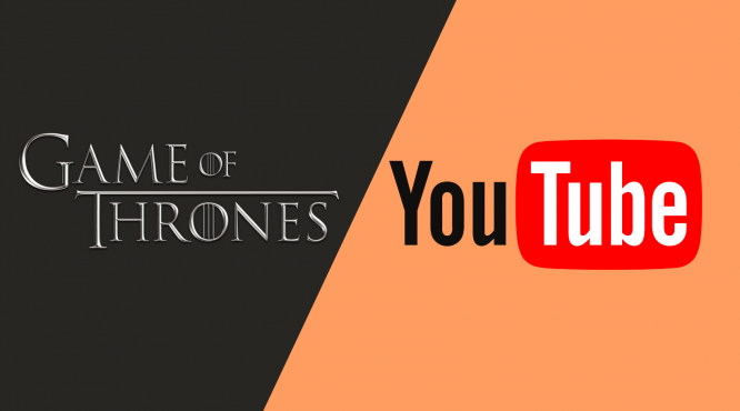 Game of Thrones vs Youtube