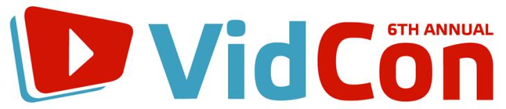 Vidcon 2015 Logo