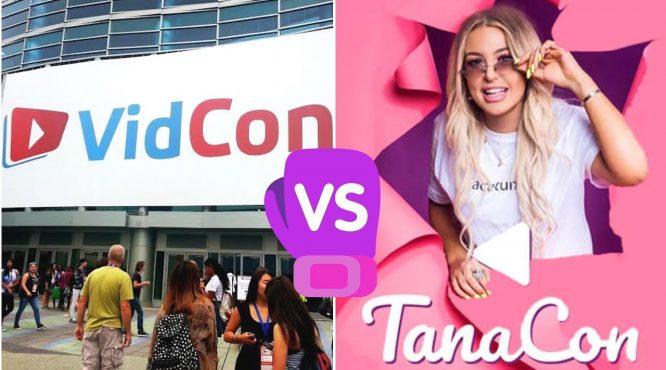 vidcon vs tanacon