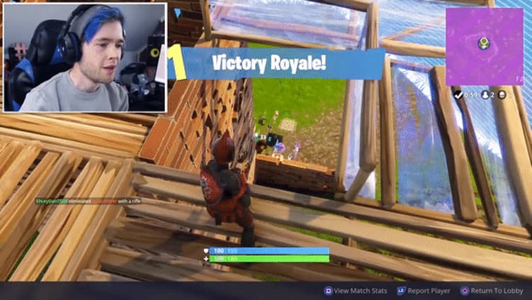 Victory Royale for the top YouTube stars