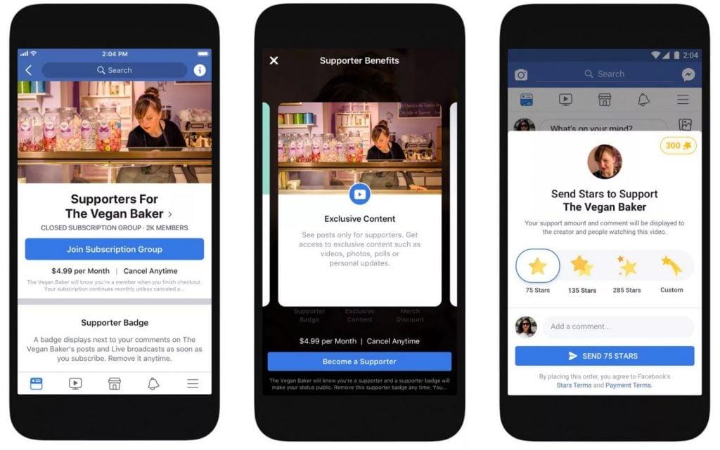 facebook monetization options