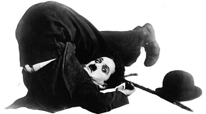 Charlie Chaplin Fall