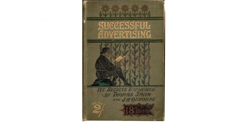 "Thomas Smith's book ""Successful Advertising"""