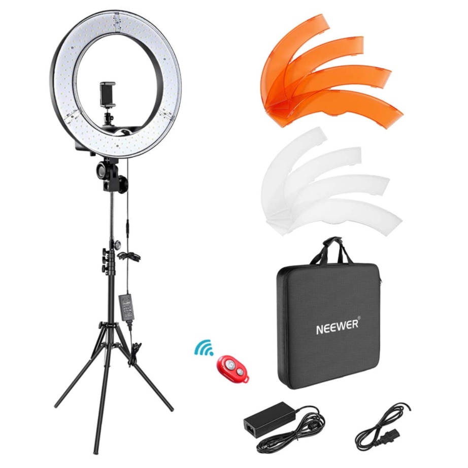 My Ringlight and other gears for TikTok video creation