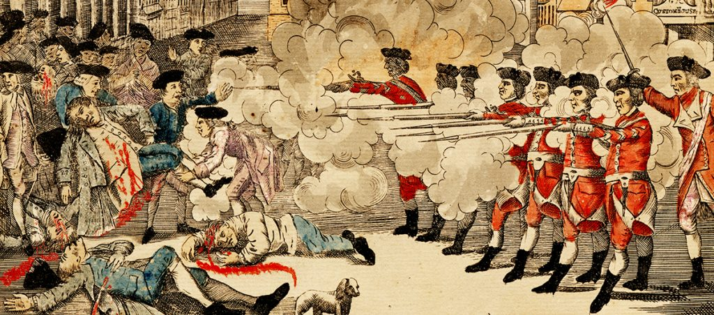 Depiction of the American Revolution